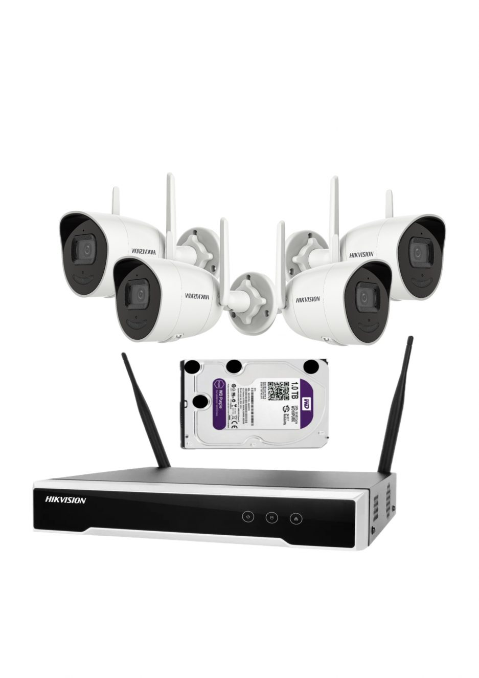 alarmpoint - hikvision wifi komplet 4MP